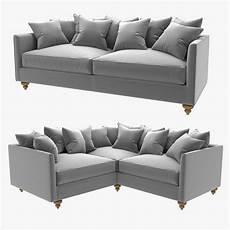 Narrow Sofa 3d Image by 3d Custom Made And Corner Sofas Cgtrader