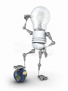 Light Robot Light Bulb Robot Stock Photos Freeimages Com