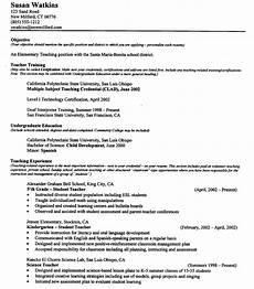 Resume Sample For Teaching Position Teacher Resume Example Sample Cover Letter For Teaching