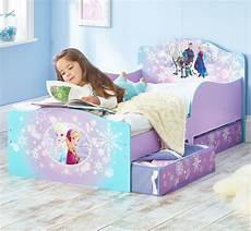 disney frozen toddler bed with underbed storage by