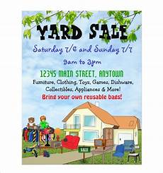 Garage Sale Flyers Examples Free 26 Yard Sale Flyer Templates In Psd Eps Ai Ms