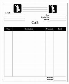 Sample Cab Receipt 6 Sample Taxi Receipt Templates Free Sample Example