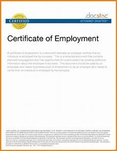 Service Certificate Model 016 Sample Certificate Of Employment Certificates Stunning