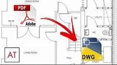 Autocad Design Book Pdf Convert Pdf To Cad Dwg Dxf Autocad Youtube