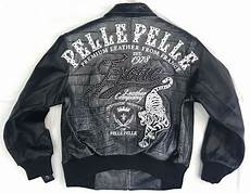 pelle pelle coats womens pelle pelle leather jacket tiger black size