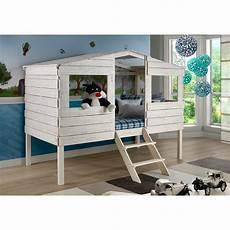 donco tree house low loft bed reviews wayfair