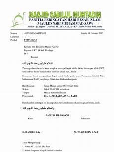 perfect contoh kop surat remaja masjid 40 di menulis kop