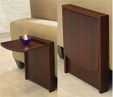 Folding Sofa Table 3d Image by The Tuc Away Table Is A Side Table That Flips Up When You