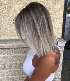 frisuren aschblond mittellang 10 medium length hair color ideas 2020