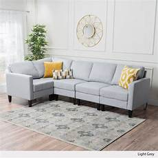 Gray Sectional Sofa 3d Image by Christopher Home Carolina Tufted Fabric Sectional