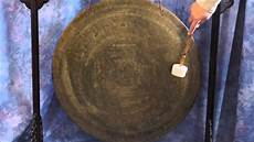 Gong Design Himalayan Hand Made Gong W Traditional Designs 28 Inch