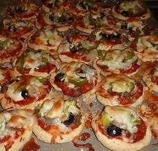 creative hospitality do ahead mini pizza appetizers