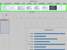 How To Chart Data In Excel How To Make A Bar Graph In Excel 10 Steps With Pictures
