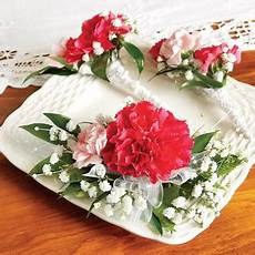 Heb Corsages Carnations Package Weddings By Design Heb