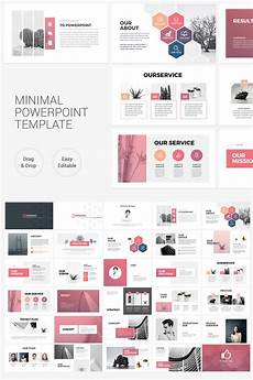 Free Powerpoint Layouts Clean Minimal Presentation Powerpoint Template 75798