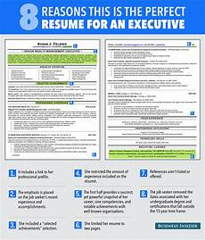Perfect Business Resume Ideal Resume For Someone With A Lot Of Experience