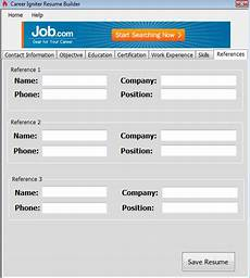 Windows Resume Builder Windows Build The Perfect Resume With Career Igniter