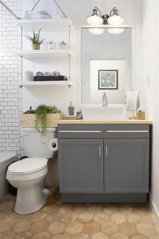 small bathroom closet ideas a builder grade bathroom transformation with lowe s
