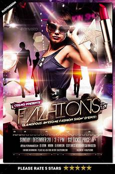 Fashion Show Flyers Fashion Show Flyer By Rudydesign Graphicriver