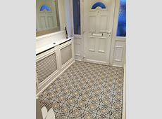 Fired Earth Abbey Fountains tiles in entrance hallway   Tiled hallway, Tiles, Carpet staircase