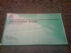 Army Corps Of Engineers River Charts Allegheny River Navigation Charts 1994 U S Army Corps Of