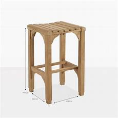 Classic Stool Design Classic Teak Backless Counter Stool Dining Chairs