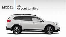 2019 Subaru Suv by 2019 Subaru Ascent Limited Suv Model Review