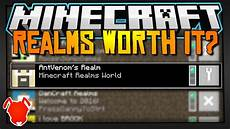 are the new minecraft realms worth it