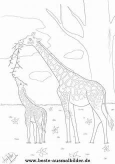 Ausmalbilder Drucken Giraffe Mandala Giraffe Zum Ausdrucken Best Image Giraffe In The