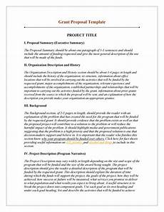 How To Write Grant Proposal 40 Grant Proposal Templates Nsf Non Profit Research ᐅ