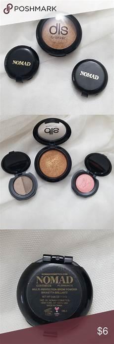 Nomad Cosmetics Light Infusion Powder Nomad Brow Powder Amp Illuminator Dls Bronzer 3 Items