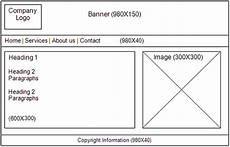 Web Page Storyboard Template Storyboarding Digest Web Design Free Website Design