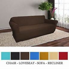 jersey knitted stretch slipcover chair seat sofa