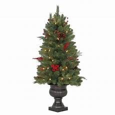 Home Depot Trees With Lights Martha Stewart Living 3 Ft Winslow Fir Potted Artificial