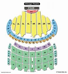 Seating Chart For Hamilton Chicago Chicago Theater Seating Chart Seating Charts Amp Tickets