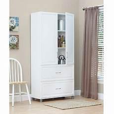 systembuild 36 quot 2 door 2 drawer storage cabinet white