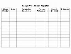 Business Checkbook Register 6 Free Blank Business Checkbook Register Template Excel