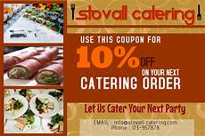 Catering Flyer Catering Business Flyer Template Postermywall