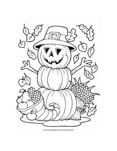Ausmalbilder Herbst Pdf Fall Coloring Pages Free Printable Pdf From Primarygames