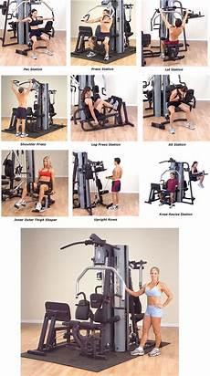 Parabody Home Gym Workout Chart Body Solid G9s Home Gym Perfect Addition To My Dream