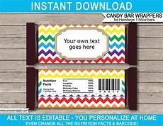 Hershey Candy Bar Wrappers Rainbow Hershey Candy Bar Wrappers Personalized Candy Bars