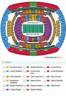 Metlife Virtual Seating Chart Metlife Stadium Seating Chart Pictures Directions And