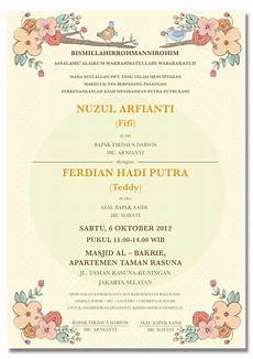 contoh invitation card wedding contoh yes