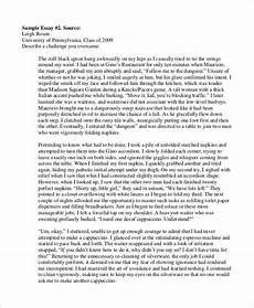 Samples Of College Essays College Essay Format College Essay Examples College