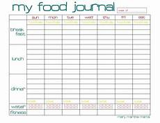Food Tracking Log Free Food Journal Printable Healthy Mama Week 29 Mary
