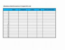 Attendance Sheet Format 43 Free Printable Attendance Sheet Templates Templatelab