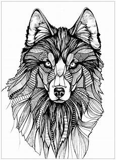 wolf coloring pages for adults best coloring pages for
