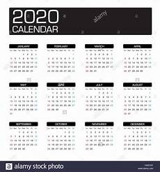 images for calendar 2020 2020 year calendar template stock vector art