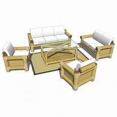 Bamboo Sofa Table 3d Image by Bamboo Sofa Set 3d Model Formfonts 3d Models Textures