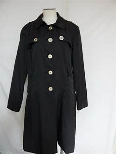 nine west coats for classroom nine west lightweight trench coat xl black new w defects